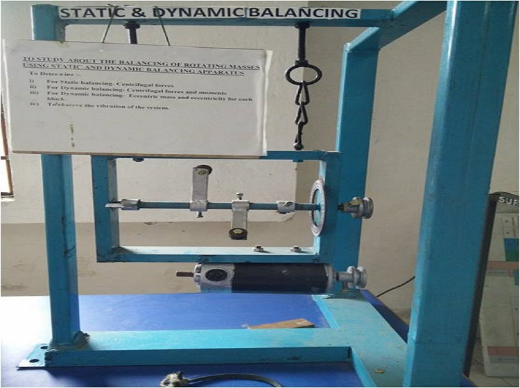 Static Dynamic Balancing Machine